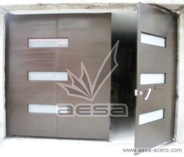 0230-512-porton-minimalista-vidrios-rectangulares-plegadizo-puerta-peatonal-moderno
