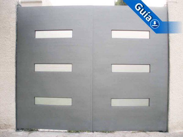 0310-512-porton-minimalista-rectangulos-vidrio-moderno