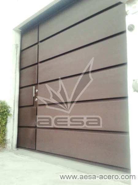 0340-596-porton-moderno-rectangulos-paneles-horizontales-corrediza-con-puerta