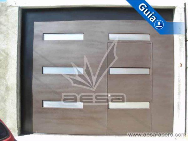 0350-512-porton-moderno-minimalista-rectangulos-horizontales-acero-inoxidable-herreria