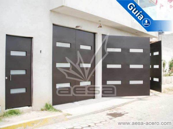 0460-512-porton-minimalista-moderno-vidrios-rectangulares-juego-puerta