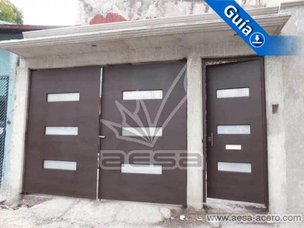 0620-512-porton-minimalista-vidrios-rectangulos-horizontales-juego-puerta