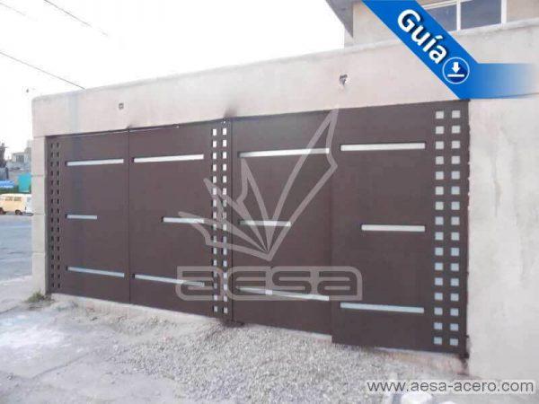 0720-117-porton-minimalista-cuadricula-lados-vidrios-rectangulares-angostos-abatibles