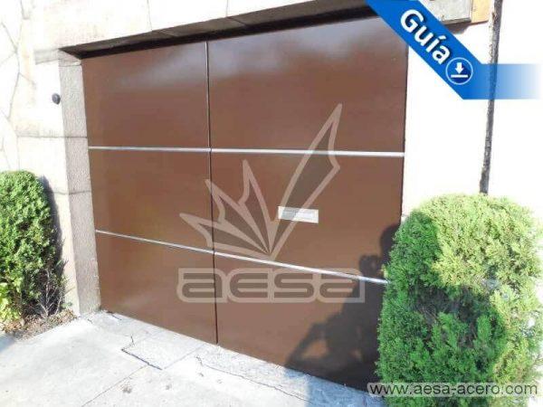 0750-591entalu-porton-moderno-recuadros-rectangulos-charolas-con-tiras-soleras-aluminio-minimalista