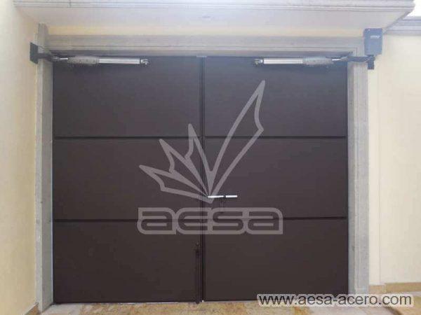 0850-593-porton-moderno-charolas-rectangulares-grandes-automatico