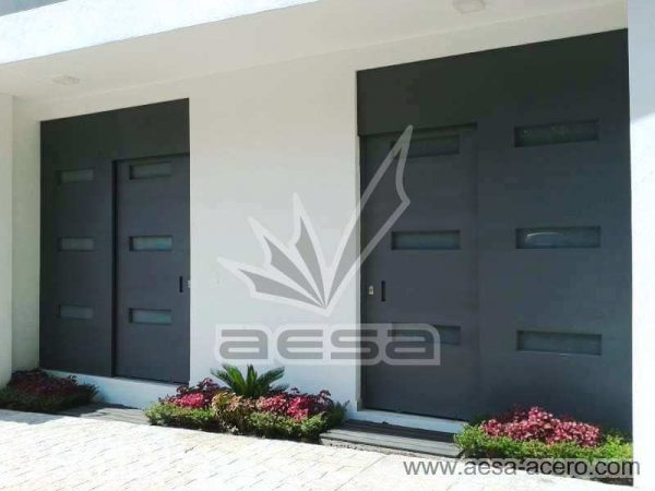 0960-512-porton-minimalista-vidrios-rectangulares-moderno