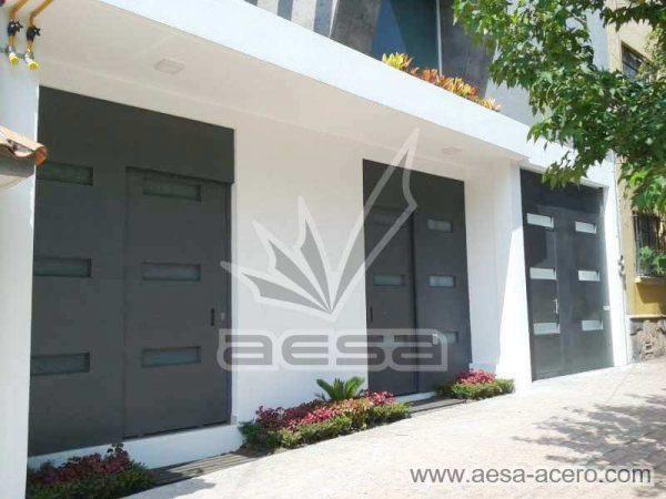 0960-512-porton-minimalista-vidrios-rectangulares-moderno-fijo-hoja-corrediza