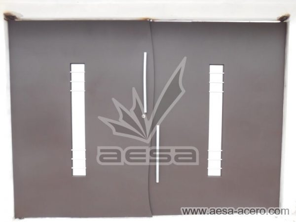 0990-113-porton-moderno-vidrio-cental-batiente-curvo-vidrios-adornos
