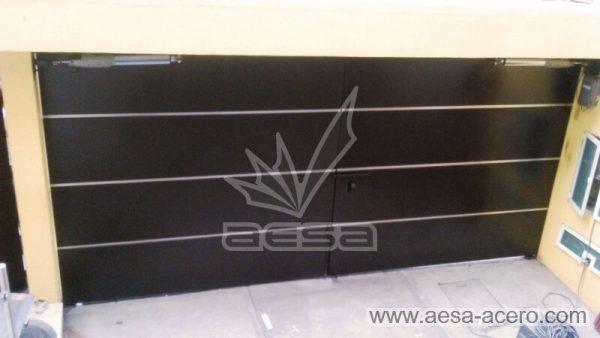 1060-591entalu-porton-moderno-recuadros-rectangulos-charolas-con-tiras-soleras-aluminio-automatico