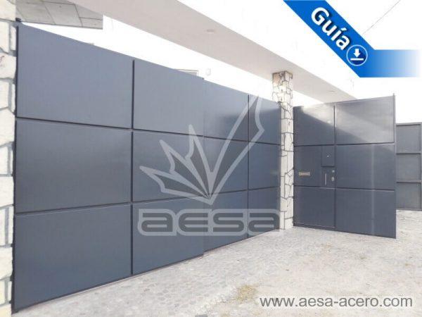 1100-593-porton-moderno-rectangulos-cuadros-relieve-salidos-acabado-lateral