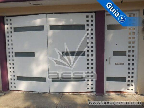 1190-117VG-porton-minimalista-vidrios-rectangulos-anchos-cuadricula-lado-blanca-blanco