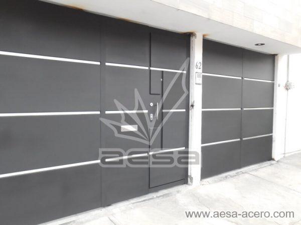 1260-591entalu-porton-moderno-recuadros-rectangulos-charolas-con-tiras-soleras-aluminio-minimalista-lineas-plateadas