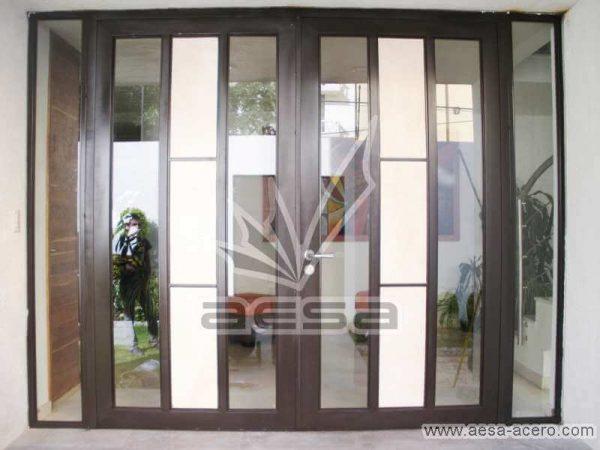 0040-292-puerta-marmol-vidrio-luz-metal-acero