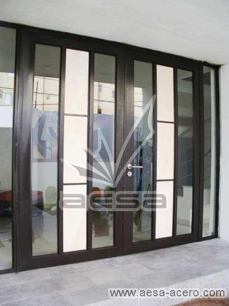 0040-292-puerta-marmol-vidrio-luz-metal-herreria