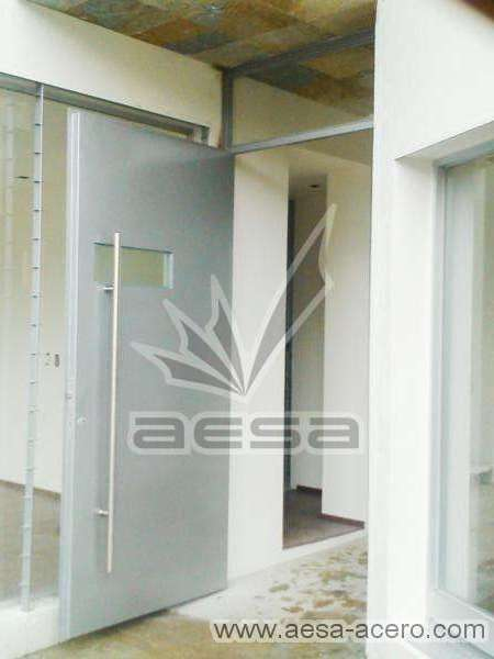 0170-2243-puerta-principal-lisa-remaches-seguridad-acero-cerrada-jaladeras-jumbo