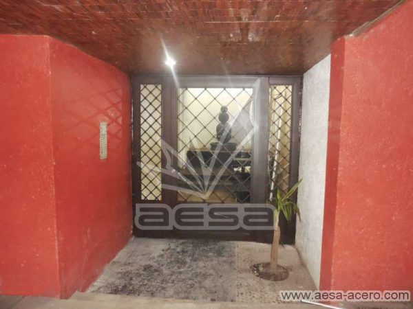 0280-2152-puerta-principal-rombos-cuadricula-nudos-vidrio-herreria-clasica