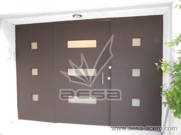 0460-512-puerta-minimalista-moderna-vidrios-rectangulares-fijos-laterales