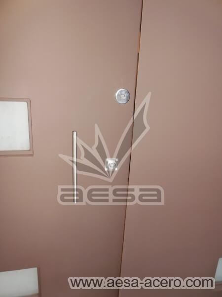 0460-512-puerta-minimalista-moderna-vidrios-rectangulares-fijos-laterales-chocolate-mate-chapas-seguridad